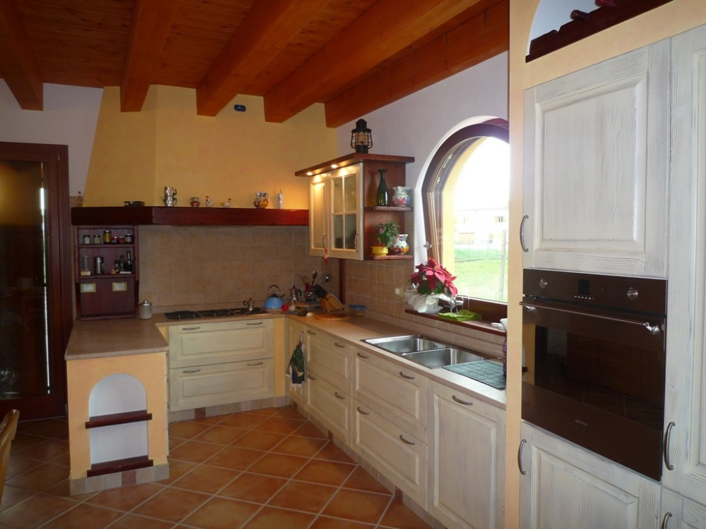 Progettare una cucina in muratura piantina cucina - Cucina muratura progetto ...